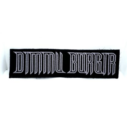 dimmu borgir logo strip patch