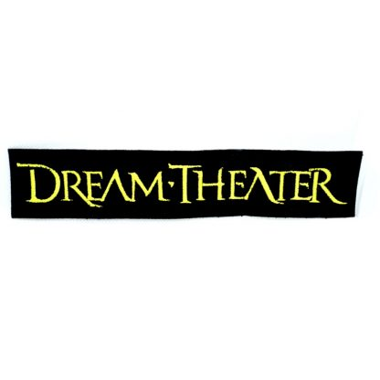 dream theatre logo strip patch