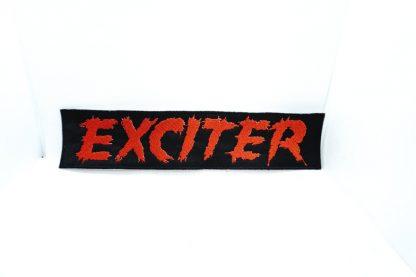 exciter logo stripe patch