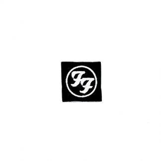 foo fighters logo mini patch