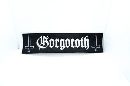 Gorgoroth Logo Stripe Patch