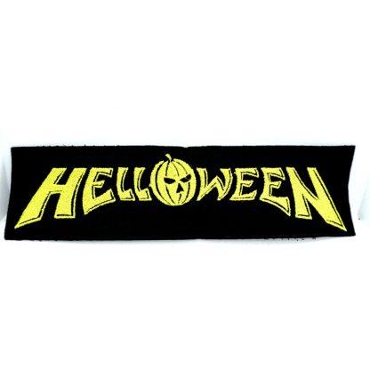 Helloween Logo Strip Patch