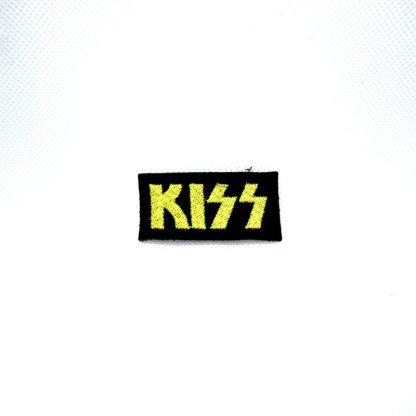 kiss logo mini patch