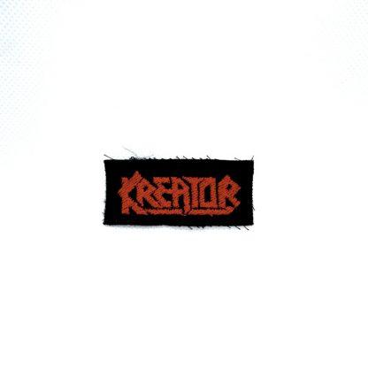 kreator logo mini patch