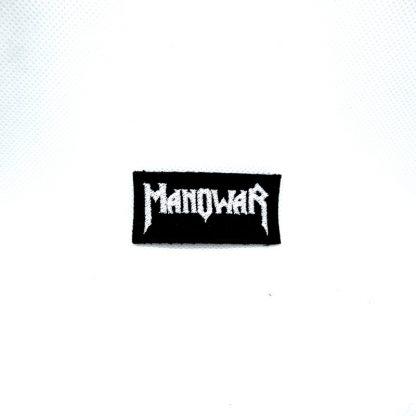 manowar logo mini patch