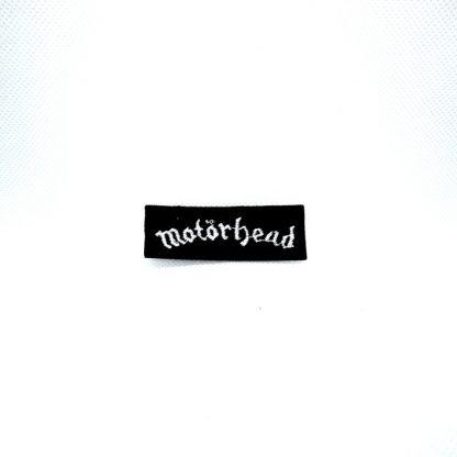 motorhead logo mini patch