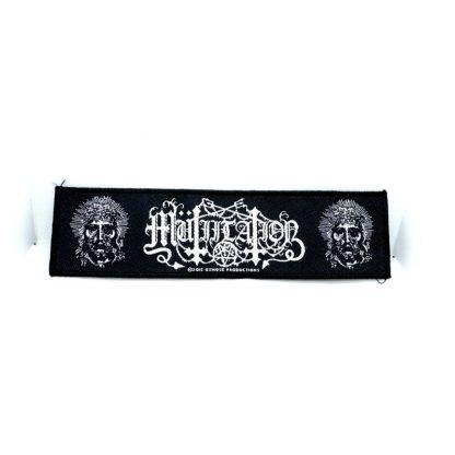 mutiilation logo strip patch