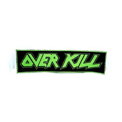over kill logo strip patch