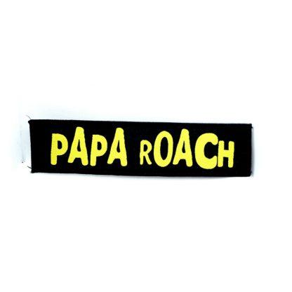 papa roach logo strip patch