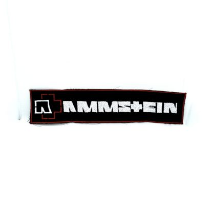 rammstein logo strip patch