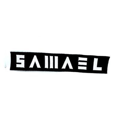 samael logo strip patch