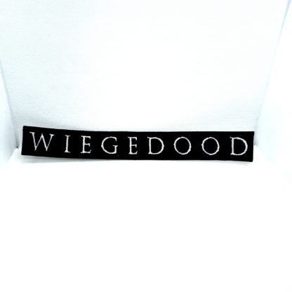 wiegedood logo strip patch