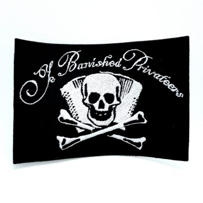 ye banished privateers logo patch