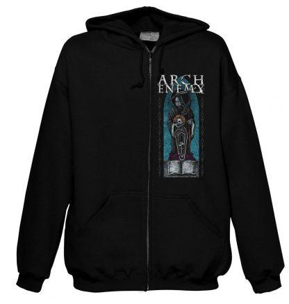 Arch Enemy Death Zip Front