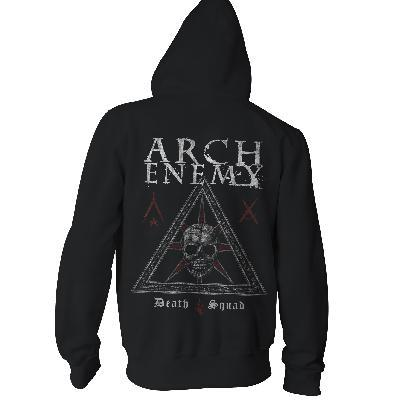 Arch Enemy Death Squad Zip Back