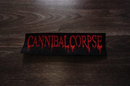 cannibal corpse new logo back stripe