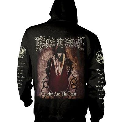 Cradle Of Filth Cruelty And The Beast Zip Back