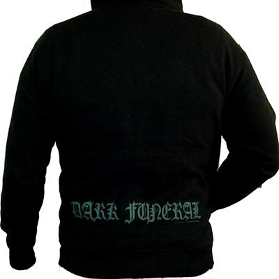 Dark Funeral Logo Zip Back
