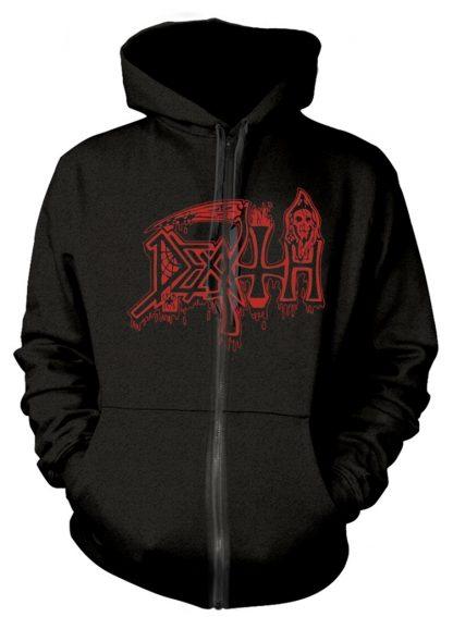 Death Scream Bloody Gore Zip Front