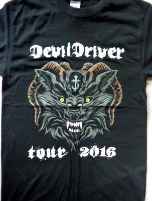 Devil Driver Tour 2016 Front