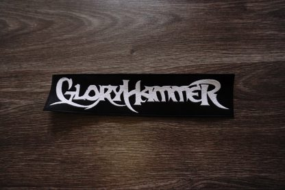gloryhammer logo back stripe