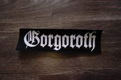 gorgoroth logo back stripe