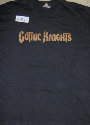 Gothic Knights True Warriors Of Metal Ts Front