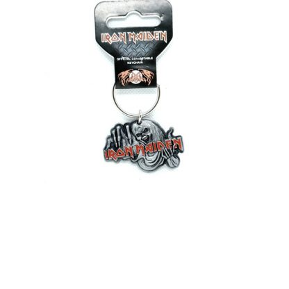 iron maiden number of the beast keyring