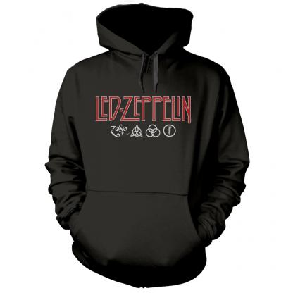 led zeppelin logo and symbols HS front