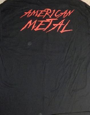 lizzy borden american metal TS back