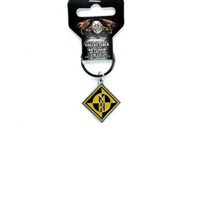 machine head diamond logo keyring