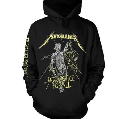 metallica and justice for all HS front