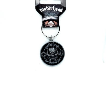motorhead the world is yours keyring