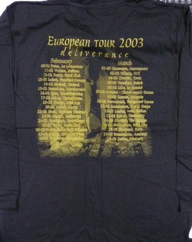 opeth deliverance tour 2003 LS back