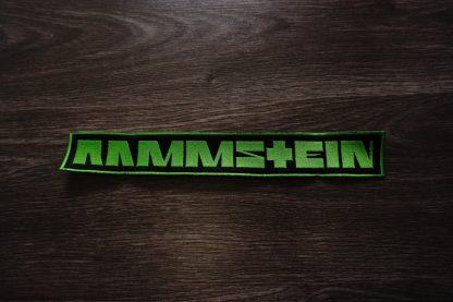 rammstein logo back stripe