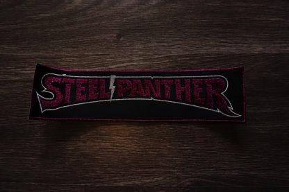 steel panther logo back stripe