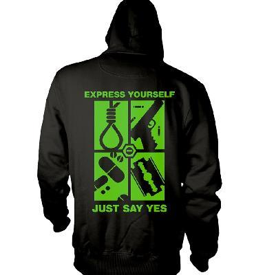 Typo O Negative Express Yourself Hs Back
