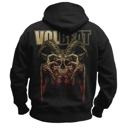 volbeat bleeding crown HS back
