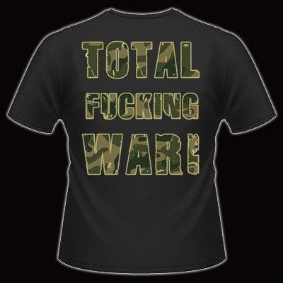 Warbringer Total Fucking War Ts Back