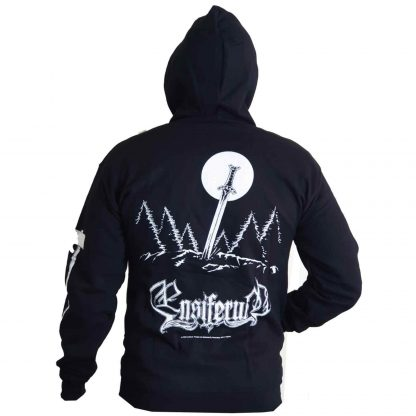 Ensiferum Sword And Axe Zip Back