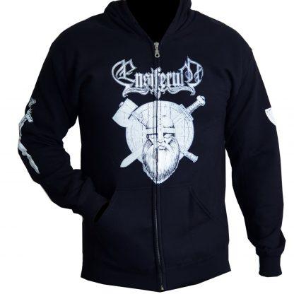 Ensiferum Sword And Axe Zip Front
