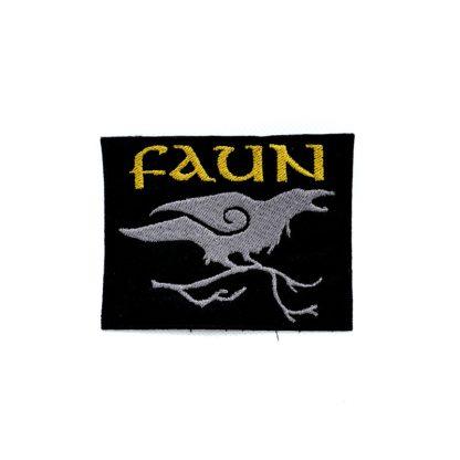 Faun Raven Logo Patch