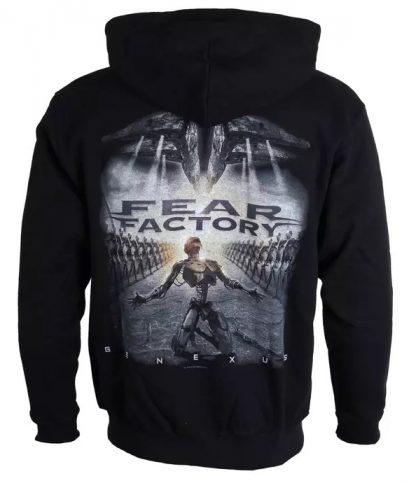 Fear Factory Genexus Zip Back