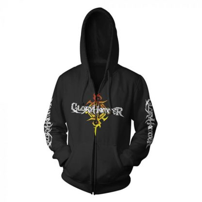 Gloryhammer Dragon Zip Front