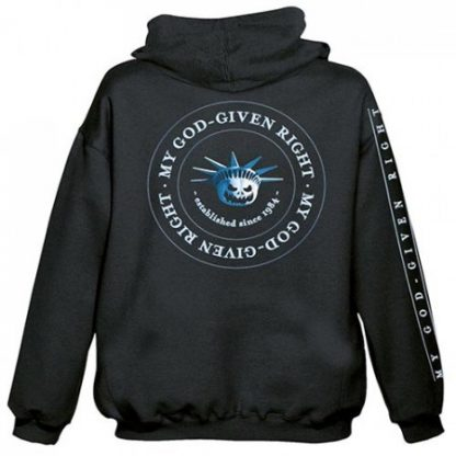 Helloween My God Given Right Zip Back