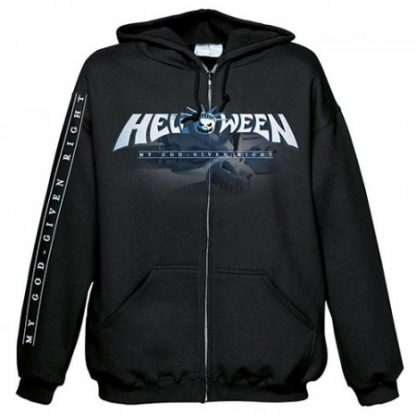 Helloween My God Given Right Zip Front