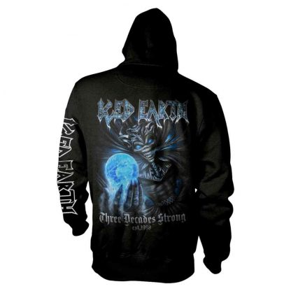 Iced Earth 30Th Anniversary Zip Back
