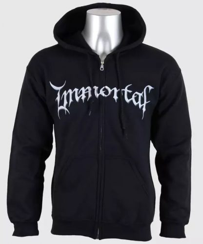 Immortal At The Heart Of Winter Zip Front