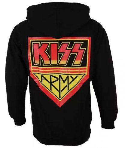 Kiss Army Zip Back