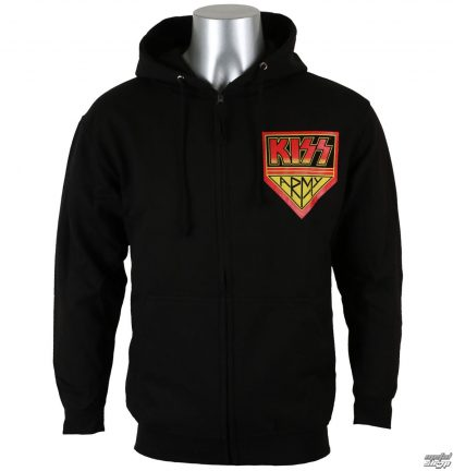 Kiss Army Zip Front